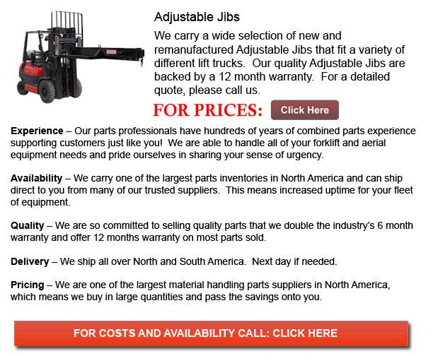 Adjustable Jibs