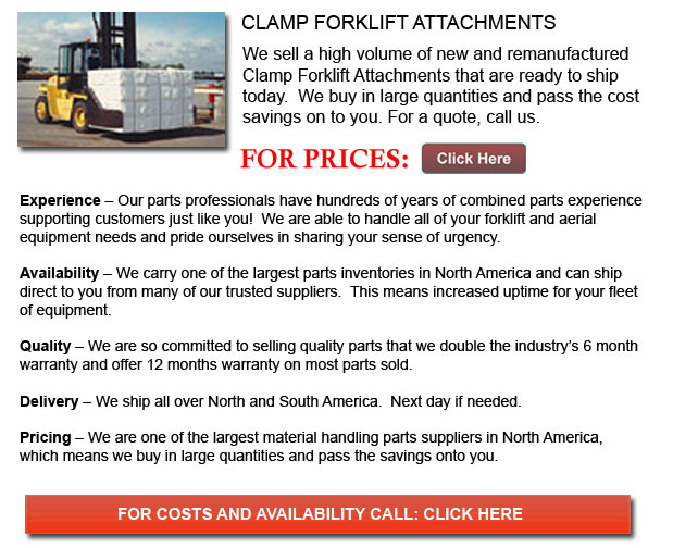 Clamp Forklift Attachment