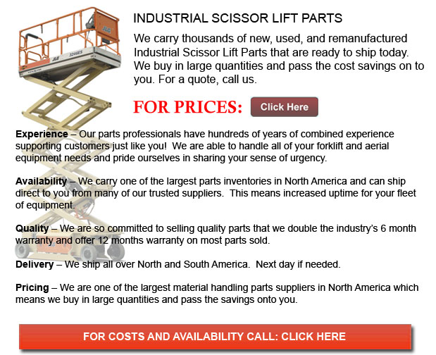 Parts for Industrial Scissor Lift Indiana