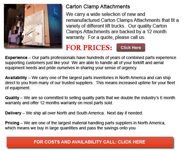 Carton Clamp Attachments