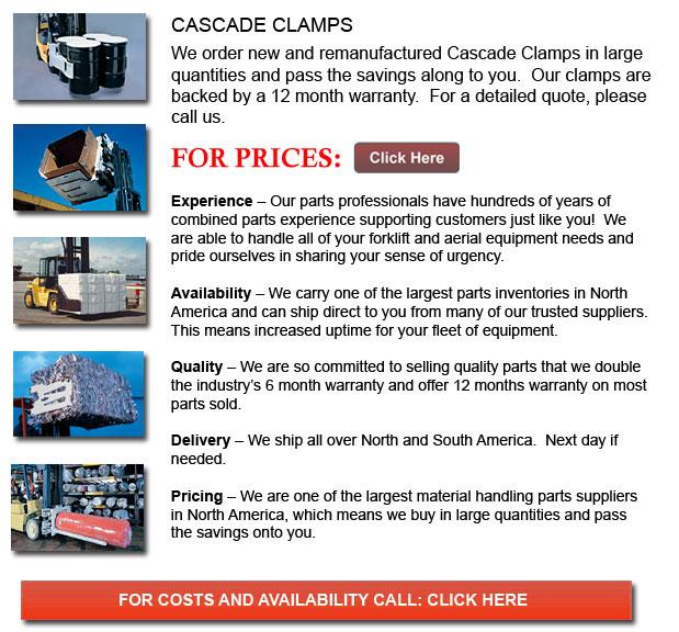 Cascade Clamps