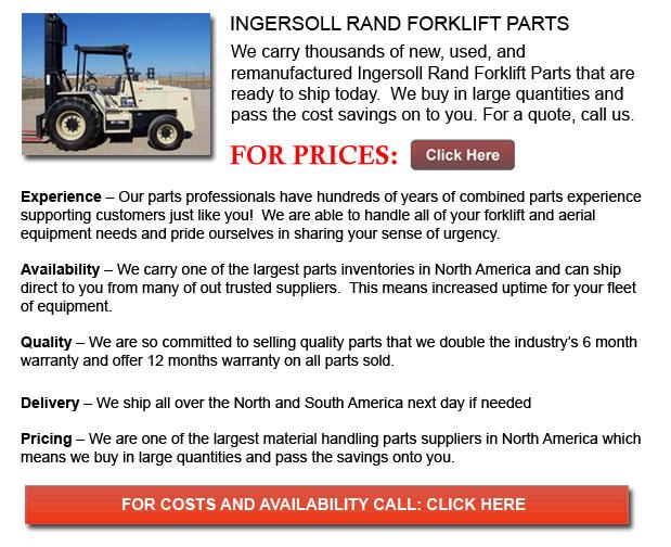 Ingersoll Rand Forklift Parts