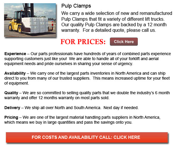 Pulp Clamps