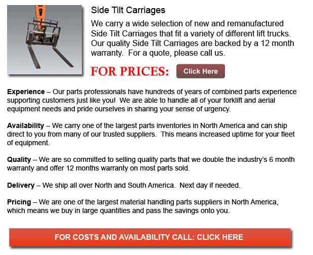 Side Tilt Carriages
