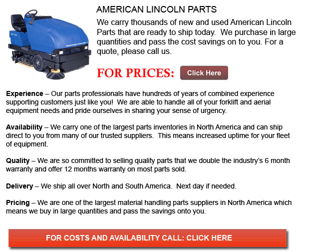 American Lincoln Parts