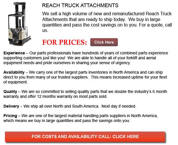 Attachment for Reach Truck