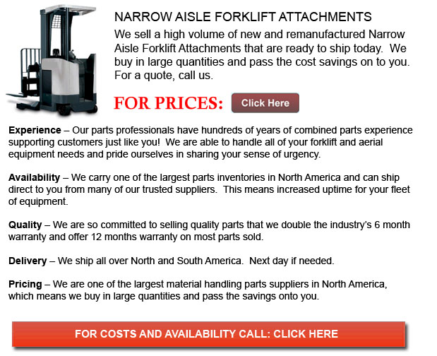 Narrow Aisle Forklift Attachments