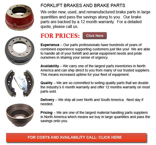 Brake for Forklift