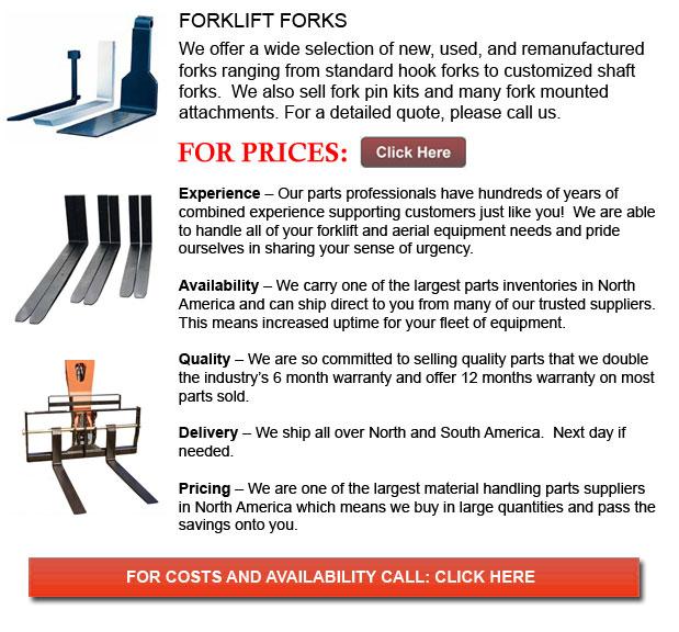 Forks for Forkflifts
