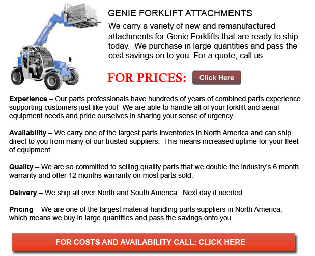 Genie Forklift Attachments
