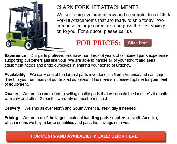Clark Forklift Attachment