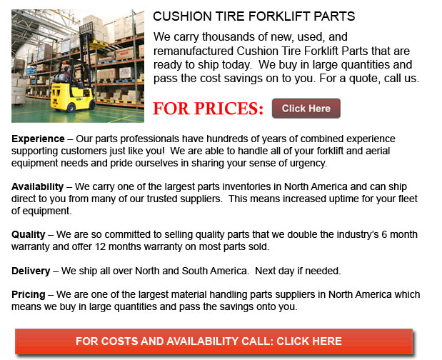 Cushion Tire Forklift Part
