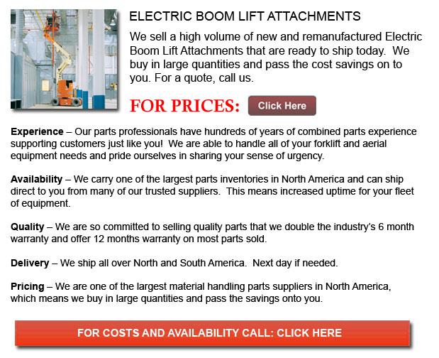 Electric Boom Lift Attachments