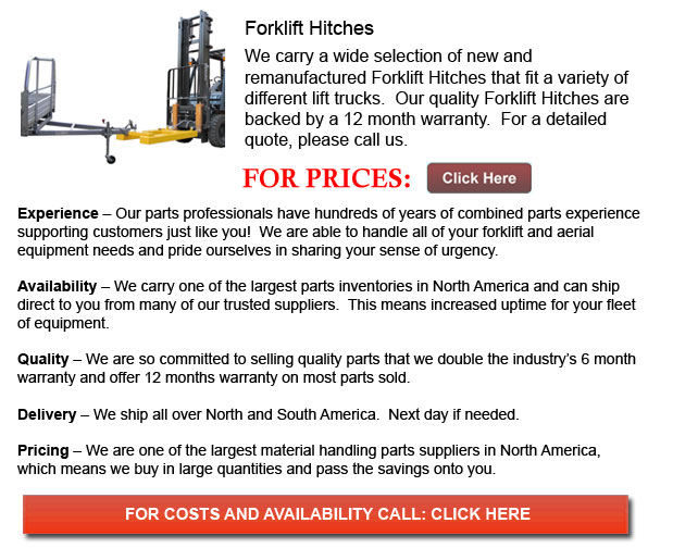 Hitch for Forklifts