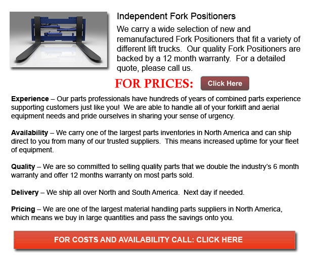 Independent Fork Positioner