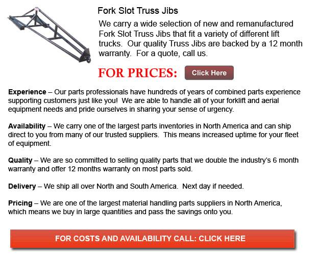 Fork Slot Truss Jibs