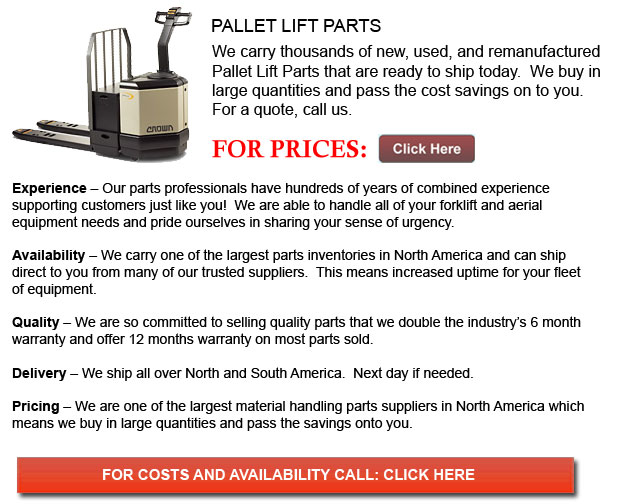 Part for Pallet Lift