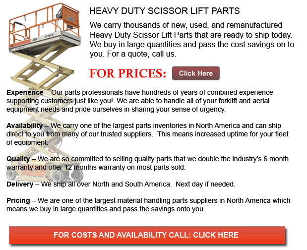 Parts for Heavy Duty Scissor Lift