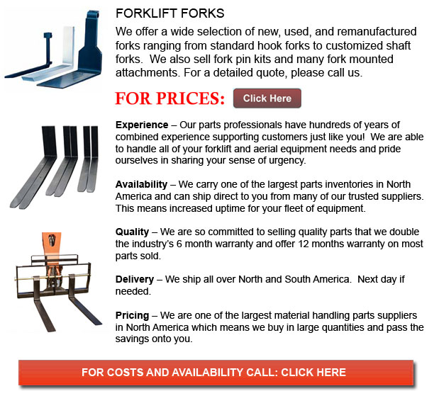 Forks for Forkflifts