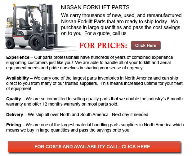 Nissan Forklift Parts
