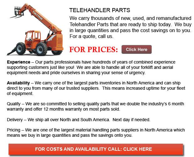 Parts for Telehandler