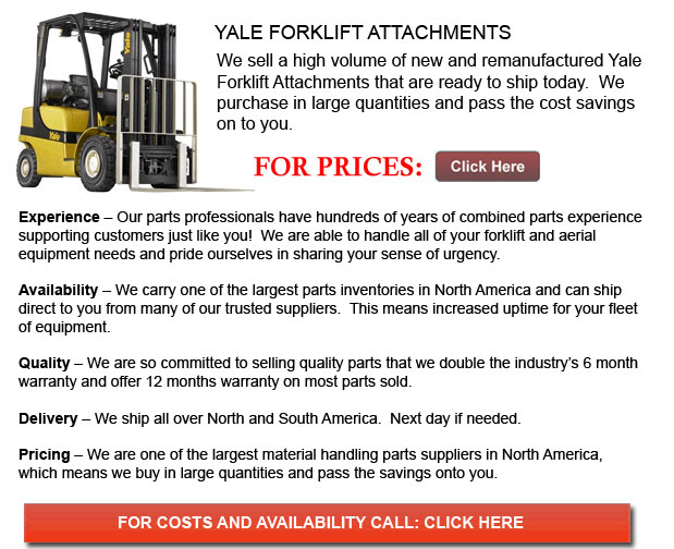 Yale Forklift Attachment