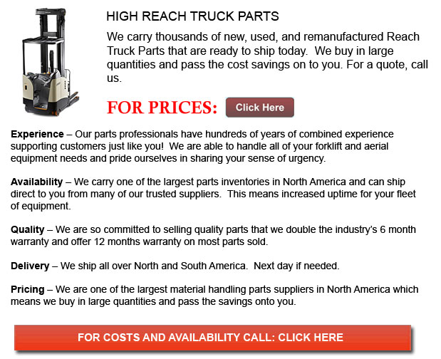 Parts for High Reach Forklift