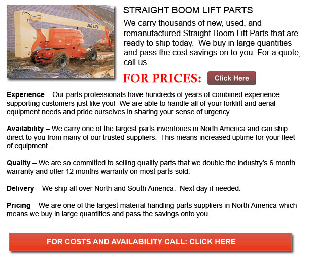 Straight Boom Lift Parts