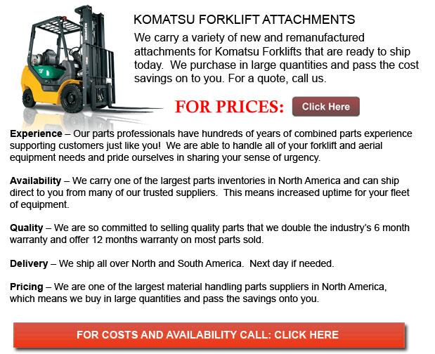 Attachments for Komatsu Forklift