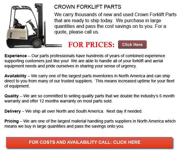 Crown Forklift Parts