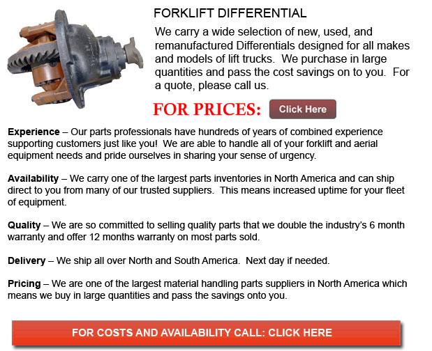 Forklift Differentials
