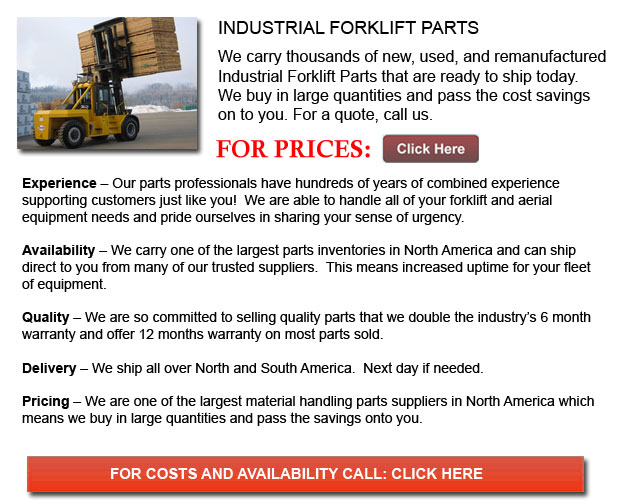 Parts for Industrial Forklifts