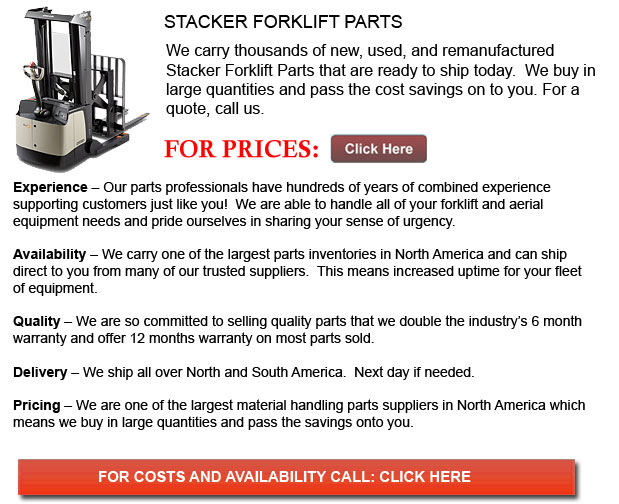 Parts for Stacker Forklifts
