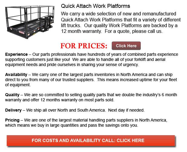 Quick Attach Work Platforms