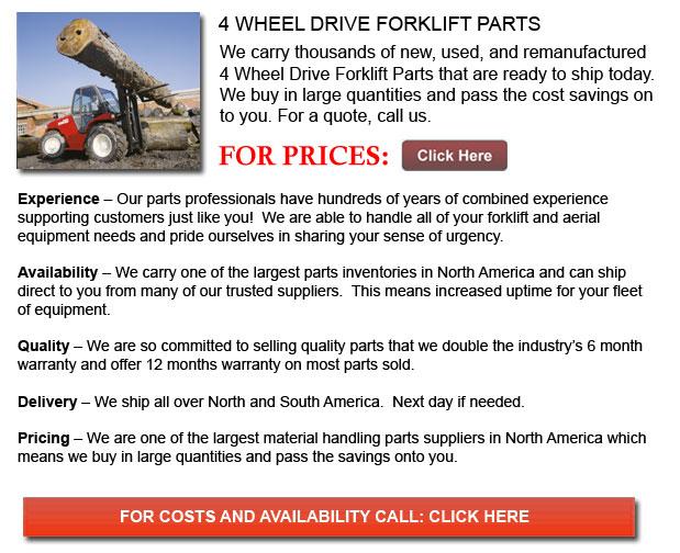 4 Wheel Drive Forklift Parts