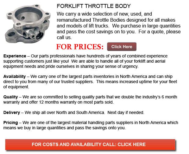 Forklift Throttle Body