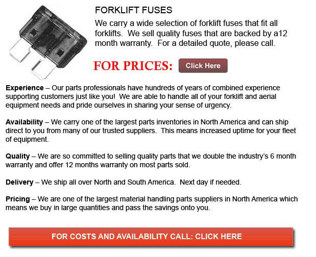 Fuses for Forklifts