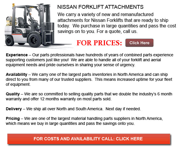 Nissan Forklift Attachments