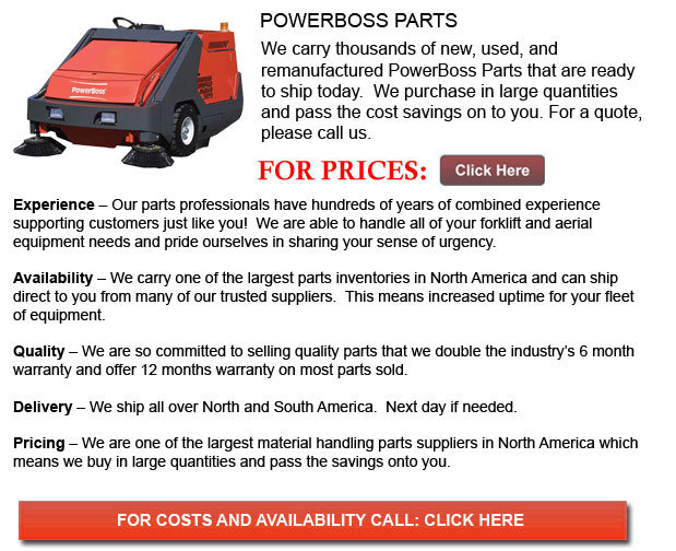 PowerBoss Parts