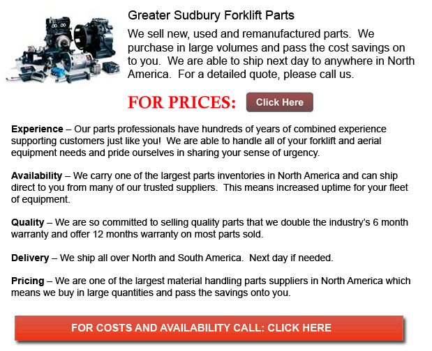 Forklift Parts Greater Sudbury