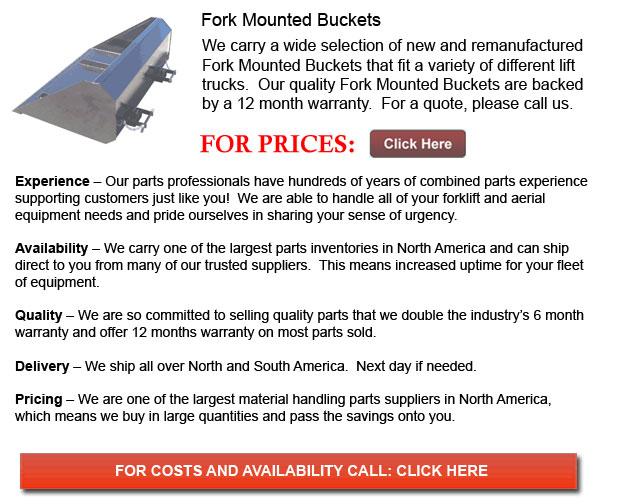 Fork Mounted Buckets