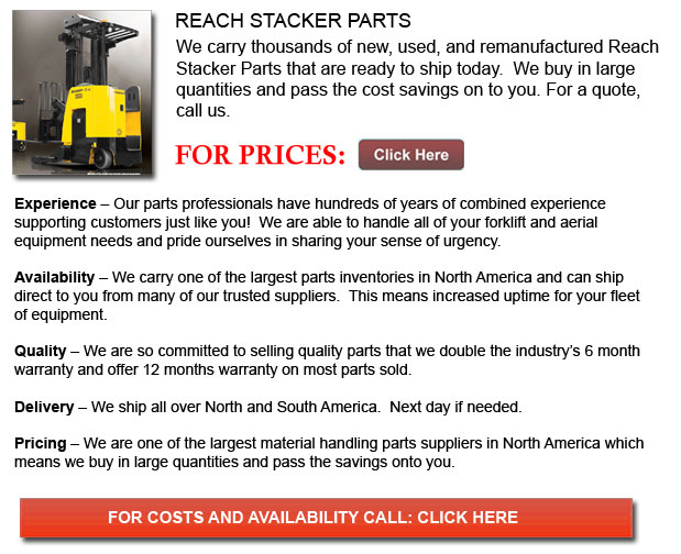 Parts for Reach Stackers