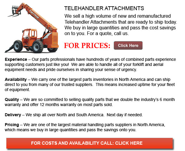 Attachments for Telehandler