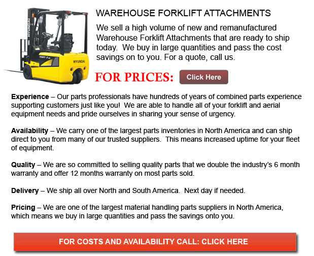 Warehouse Forklift Attachment