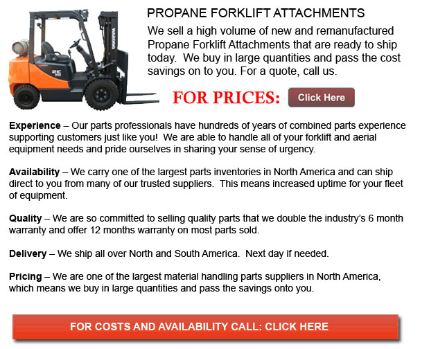 Attachment for Propane Forklifts