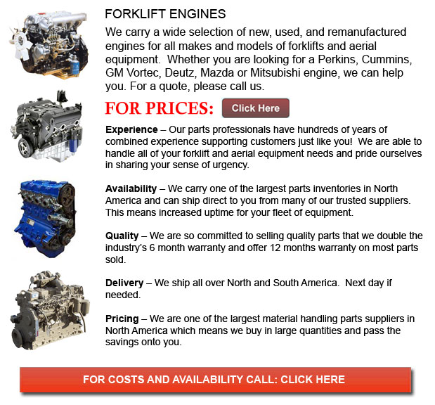 Engine for Forklifts