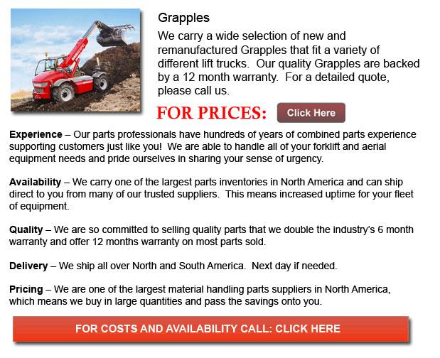 Forklift Grapples
