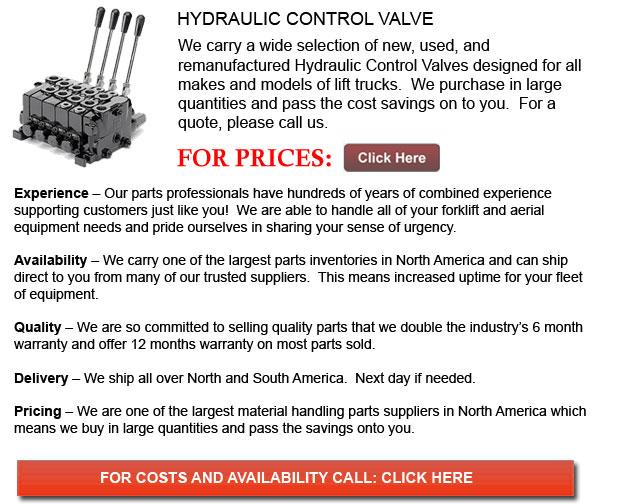 Forklift Hydraulic Control Valve