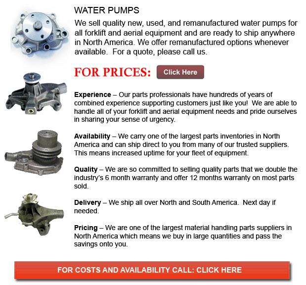 Forklift Water Pump