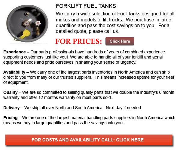 Fuel Tank for Forklift